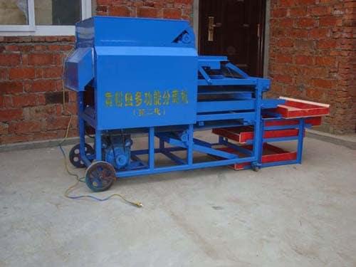 barley worms processing machine