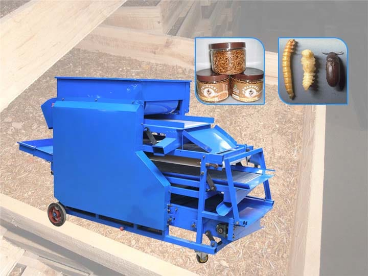 commercial mealworm separating machine for sale