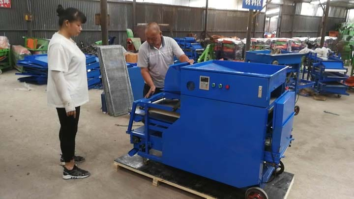 freshly manufactured mealworm separator machines