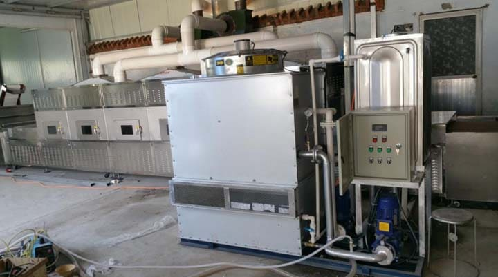 large mealworm drying machine