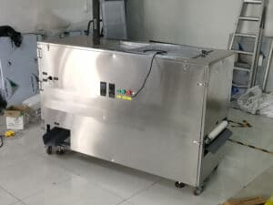 Newly manufactured mealworm sorting machine